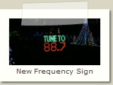 New Frequency Sign