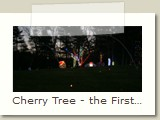Cherry Tree - the First Tree that had Lights