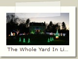 The Whole Yard In Lights