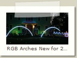 RGB Arches New for 2012