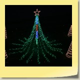 Mega-tree 10 feet high 2,000 lights